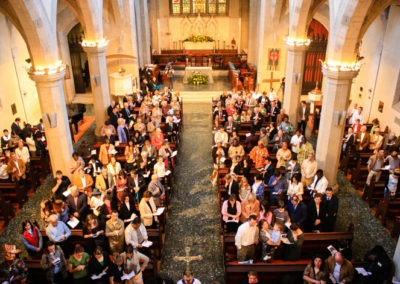 Congregation at St James Church