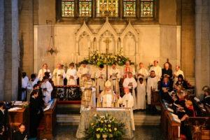 Service at St James Church