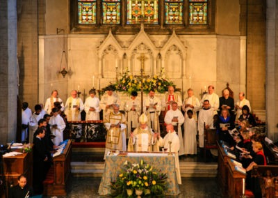 Service at St James Church