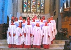 St James's Choir, Florence, Italy