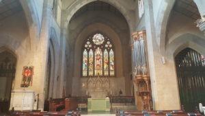 Interior of St James Church